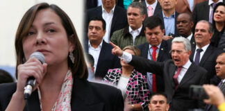 El Uribismo le puede COBRAR a Ángela Garzón su chiste con Samper en las redes