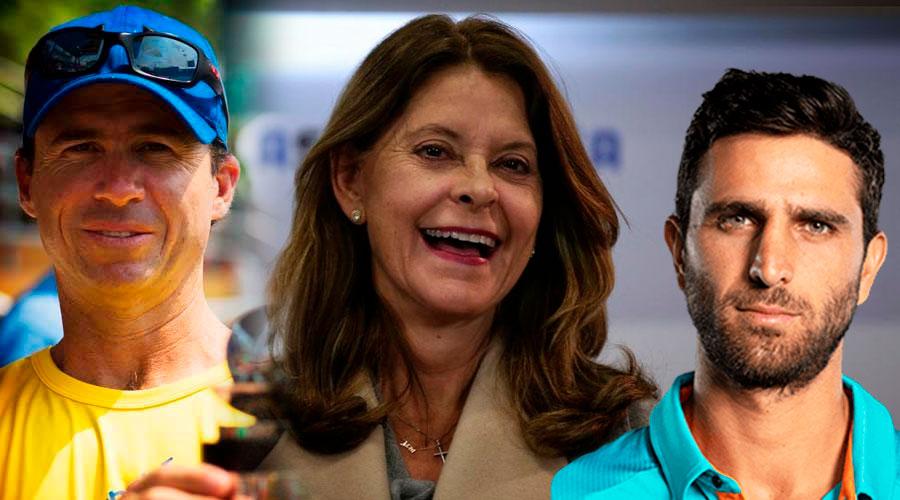 Vicepresidenta confunde a Robert Farah con el tenista retirado Mauricio Hadad