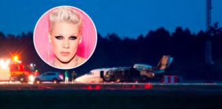 Avión de la cantante Pink se incendia al aterrizar en Dinamarca