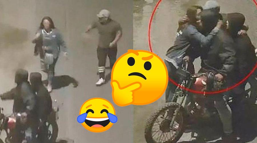 Tener Malas amistades paga: Mujer se salvó de un atraco porque era amiga de los ladrones