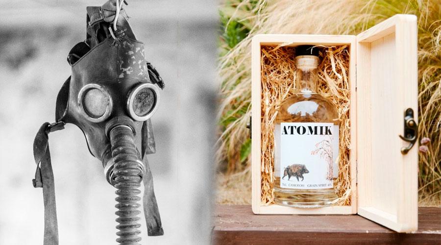 A la venta el primer vodka 'ATÓMICO' producido en Chernóbil