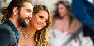Heidi Klum se casa con el guitarrista de la banda Tokio Hotel