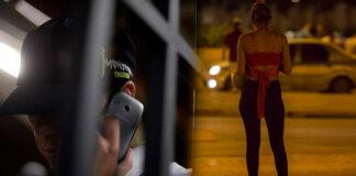 Mujer conseguía números de celular de hombres y su novio los extorsionaba desde la cárcel