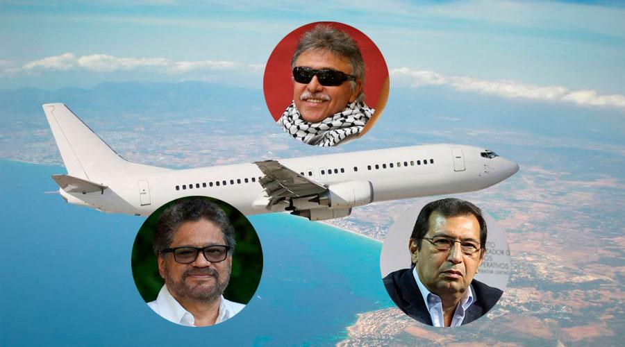 JEFES GUERRILLEROS volaron a CUBA desde Venezuela