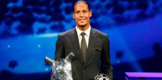 Virgil van Dijk es el Mejor Jugador de Europa