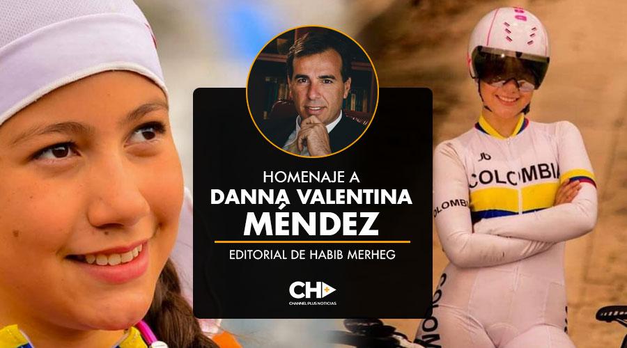Homenaje a Danna Valentina Méndez