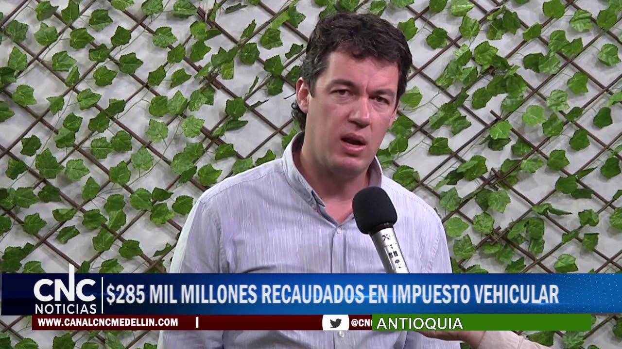 $285 MIL MILLONES RECAUDADOS EN IMPUESTO VEHICULAR