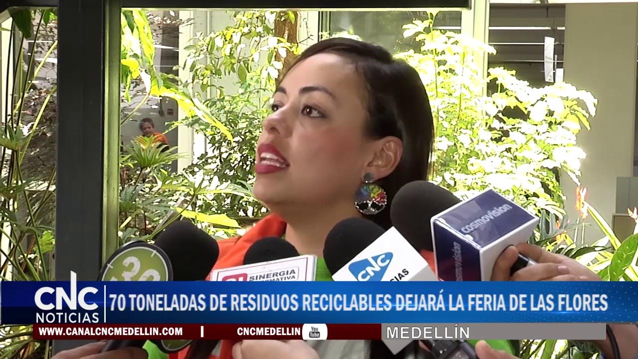 70 TONELADAS DE RESIDUOS RECICLABLES DEJARÁ LA FERIA DE LAS FLORES