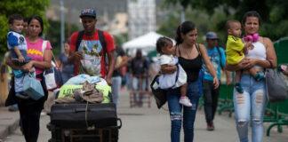 Cada vez llegan más migrantes venezolanos en Colombia. Ya hay 1.408.055 en el país