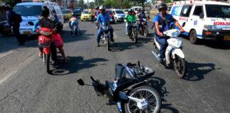 El 61 % de las muertes de motociclistas ocurren los Domingos