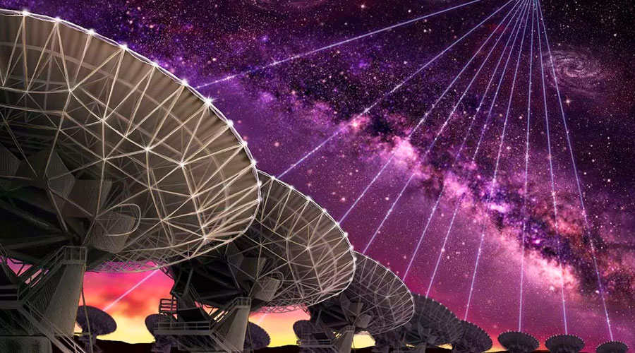 Ocho nuevas radioseñales repetitivas procedentes del espacio profundo, podría tratarse de mensajes de EXTRATERRESTRES