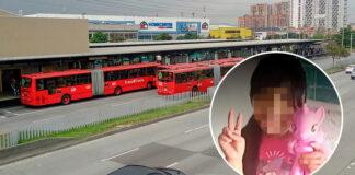 Niña de 13 años fue raptada y violada cerca de portal de TransMilenio en Bogotá