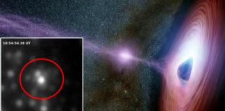 Descubren un agujero negro supermasivo que devora 12 lunas al día para 'desayuno, almuerzo y cena'