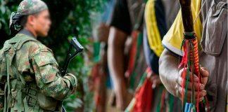 A TIROS atacan a guardias indígenas en rescate de carro robado en Cauca