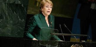 Bachelet le recuerda al gobierno de Colombia que el acuerdo de paz no se da de un día para otro