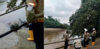 Hombres armados amenazan a personal de Ecopetrol que atiende emergencia en el río Tibú