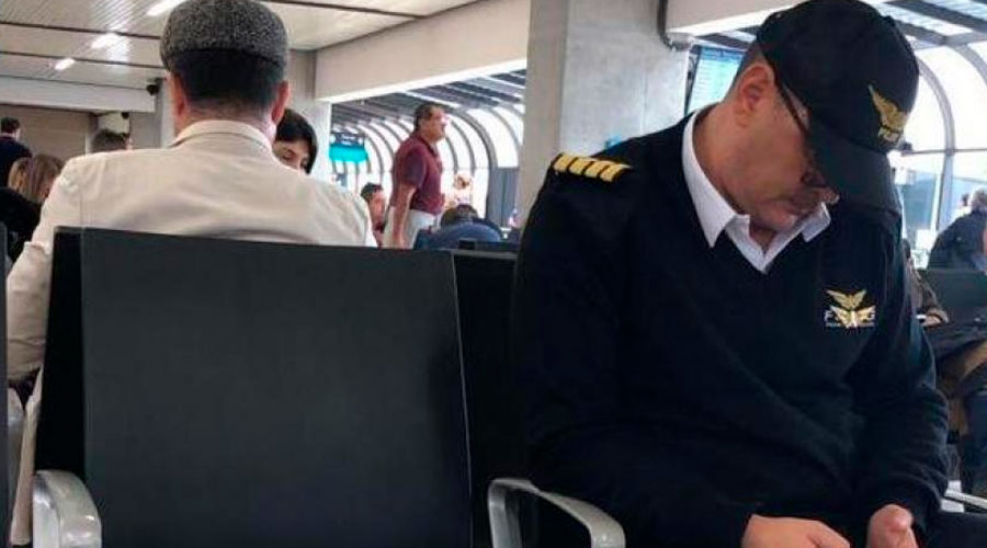 ¡IMPUNIDAD! Excontralor de Antioquia 'disfrazado' en aeropuerto de Medellín