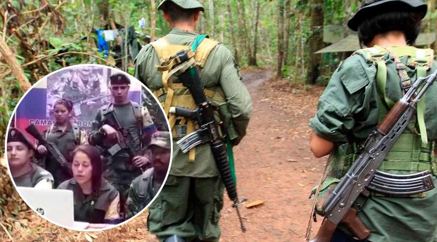 Disidentes del frente 18 aceptan a Márquez como su jefe
