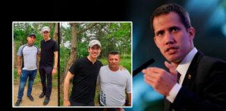 """El grupo narcoparamilitar """"Los Rastrojos"""" habrían ayudado a Guaidó, presidente interino de Venezuela, a cruzar la frontera con Colombia"""