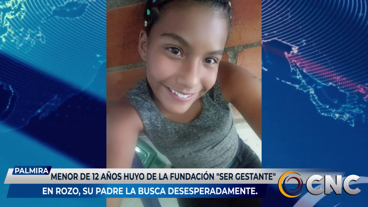 Menor de 12 años huyó de la fundación Ser Gestante en Rozo, su padre la busca desesperadamente.
