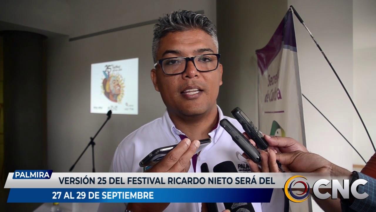 Versión 25 del festival Ricardo Nieto será del 27 al 29 de septiembre