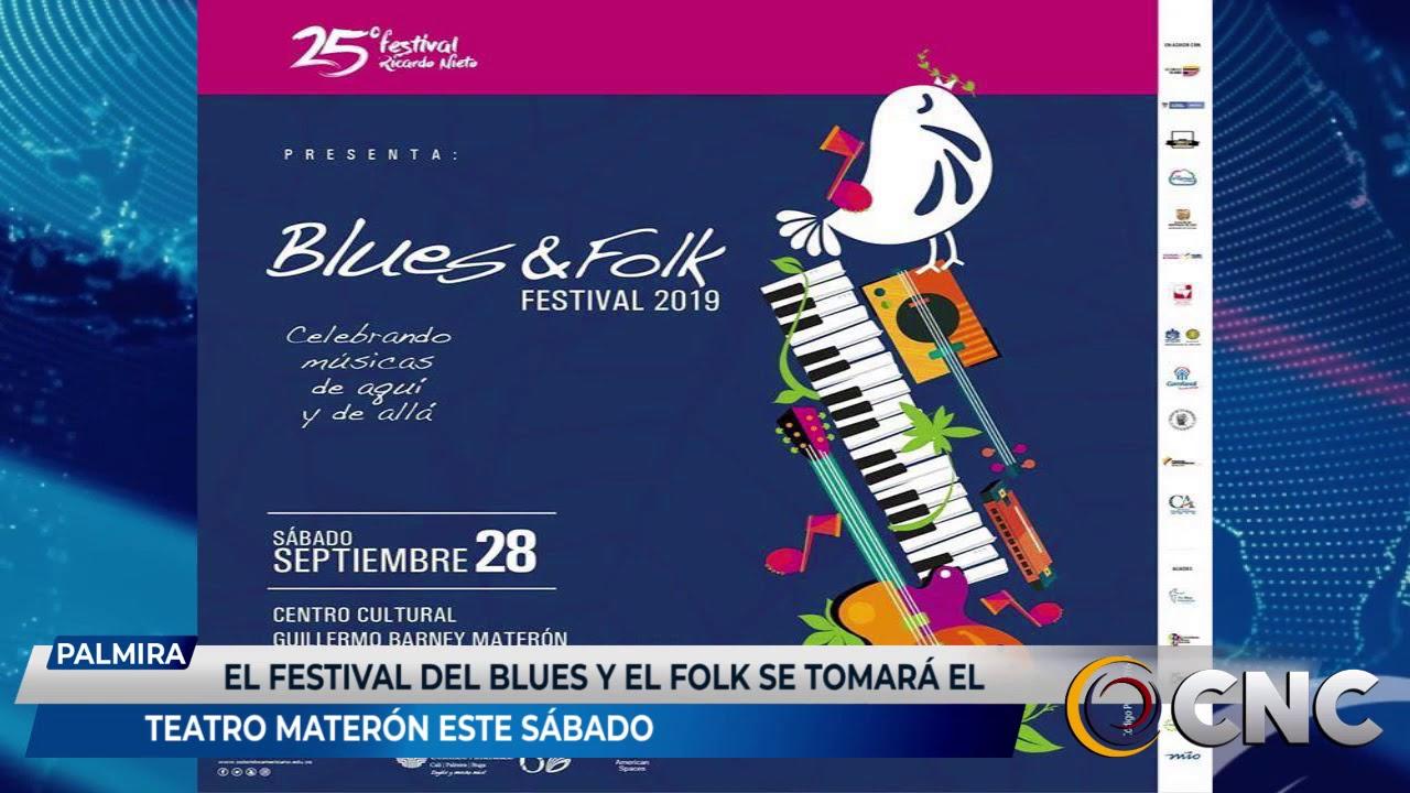 El festival del blus y el folk se tomará el teatro materon este sábado