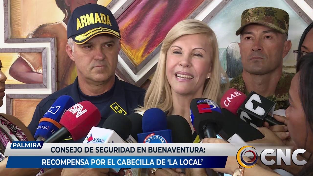 Consejo de seguridad en Buenaventura: Recompensa por el cabecilla de la banda 'la local'