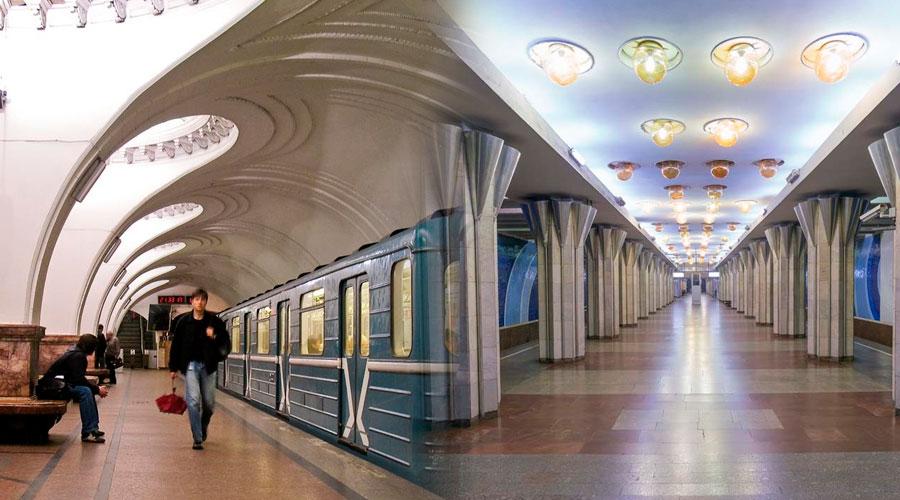 Descubra las deslumbrantes simetrías que oculta el metro nacido bajo la URSS
