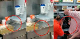 VÍDEO: Un ratón 'se suicida' ante decenas de clientes de un restaurante