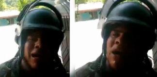 """Soldado que pidió ser grabado en medio de un combate para decirle a sus superiores: """"¿Cuál paz? ¿Dónde está la paz?"""", podría ser sancionado"""