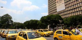 Se restablece pico y placa de dos dígitos diarios para taxis en Cali