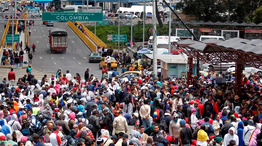 """""""El éxodo de venezolanos NO va a DISMUNUIR"""" – Felipe Muñoz, Gerente del Gobierno Colombiano"""