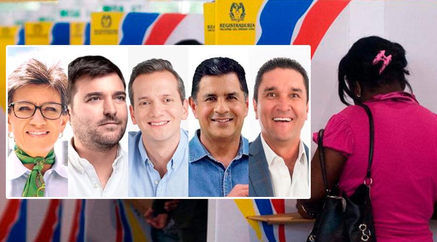 Estos serían los nuevos alcaldes de las principales ciudades del país si las elecciones fuesen hoy