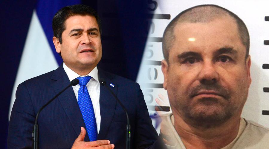 Presidente de HONDURAS recibió millón y medio de dólares del 'Chapo': justicia de EE. UU.