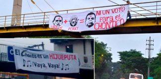 """CHONTICO Y URIBE: """"Las Guerras de la contienda electoral"""""""