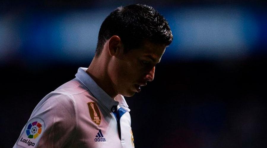 Se prenden alarmas con James: NO ENTRENÓ junto al Real Madrid