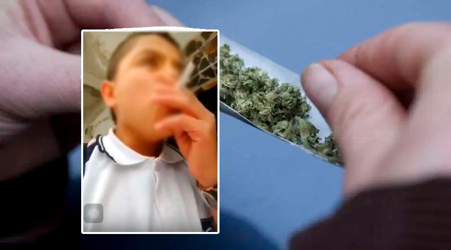 Vídeo de MENOR DE EDAD 'drogándose' causa HORROR en las redes sociales