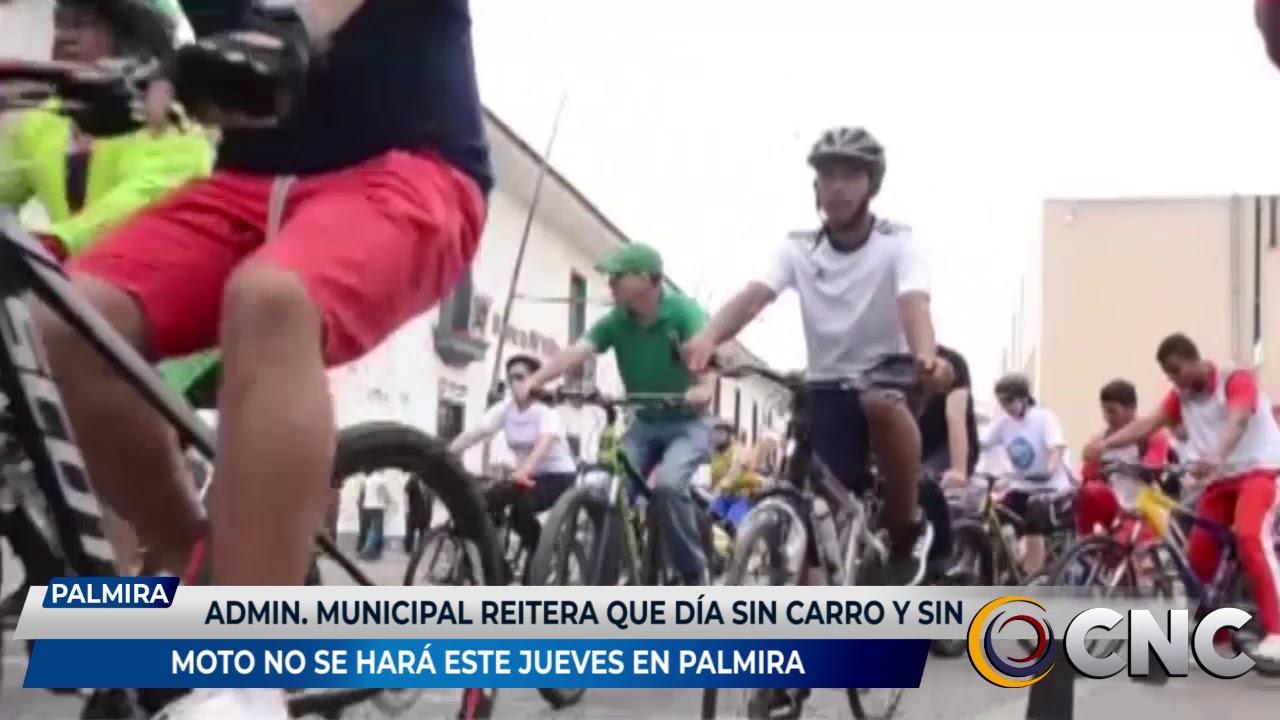 Administración municipal reitera que día sin carro y sin moto no se hará este jueves en Palmira