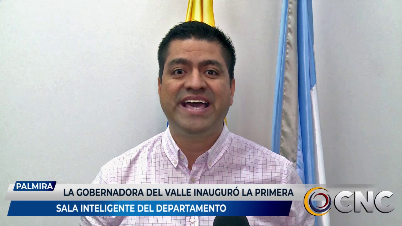 La gobernadora del Valle inauguró la primera sala inteligente