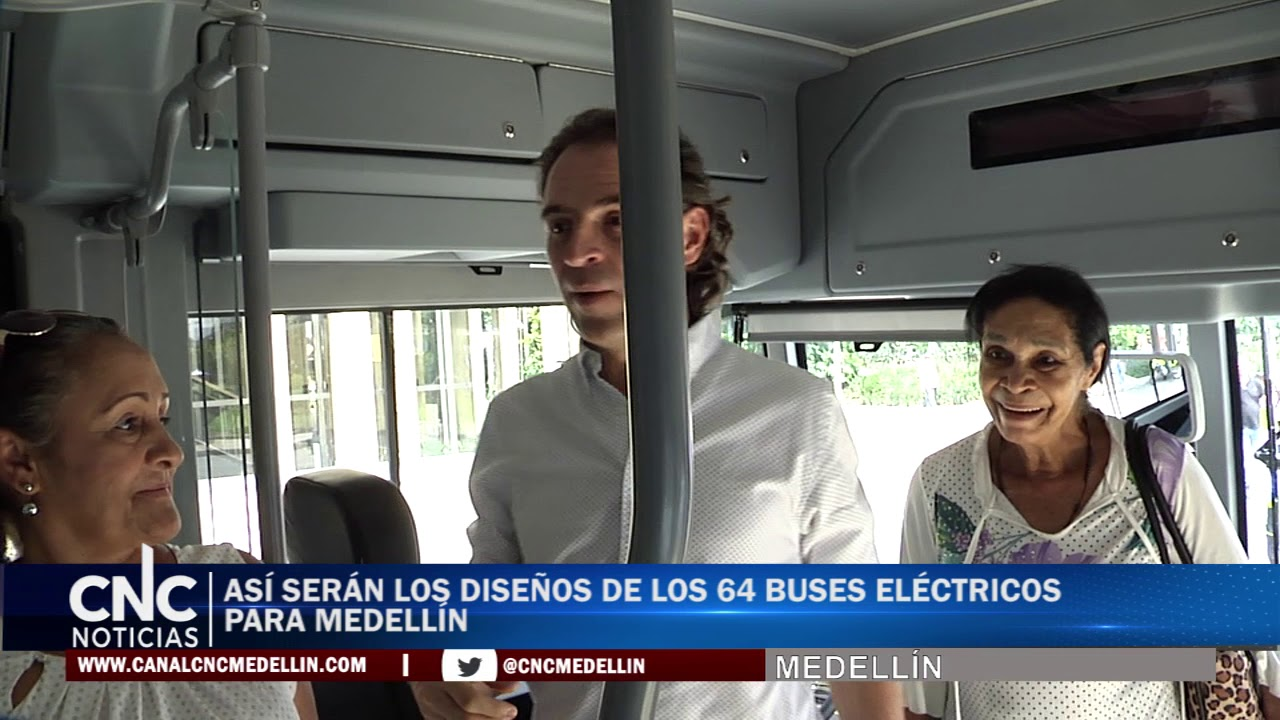 64 BUSES ELÉCTRICOS PARA MEDELLÍN