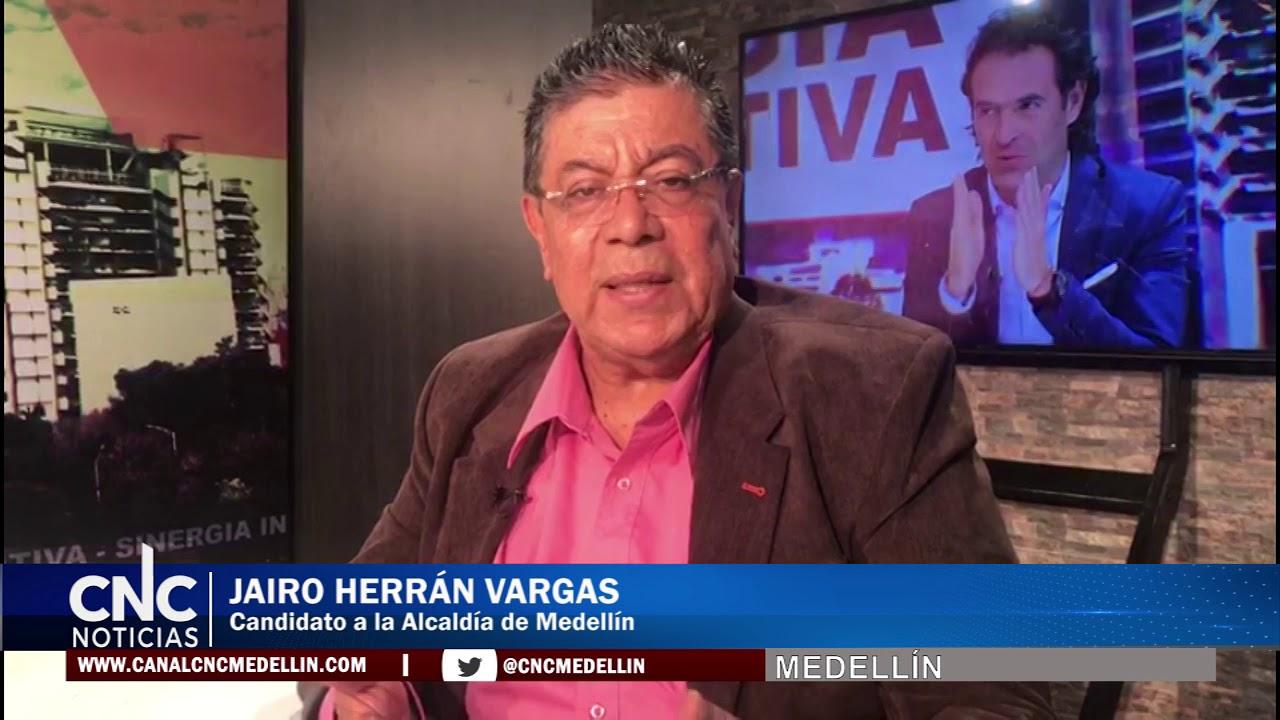 Jairo Herrán propone progresismo para los habitantes de Medellín