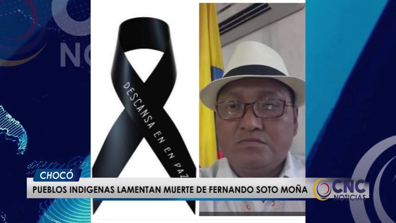 Pueblos indígenas lamentan muerte de Fernando Soto Moña