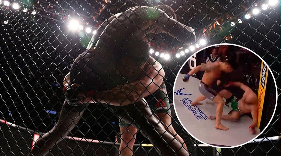 En 29 segundos luchador Gringo vence a un Ruso