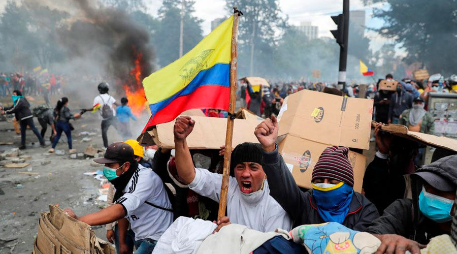 América Latina cada día más cerca a una revolución SOCIAL