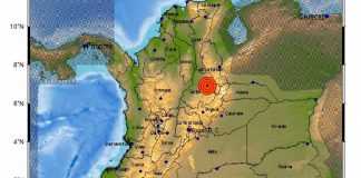 Fuerte sismo de magnitud 4,7 sacude a SANTANDER