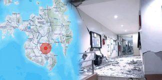 Primeras imágenes tras el fuerte sismo de magnitud 6,4 que sacudió Filipinas