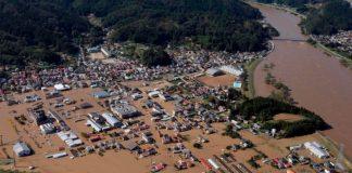 El tifón Hagibis derramó en un río el contenido de bolsas con residuos radiactivos de la central nuclear Fukushima