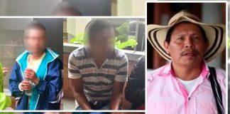 Autoridades CAPTURARON a presuntos homicidas de líder indígena