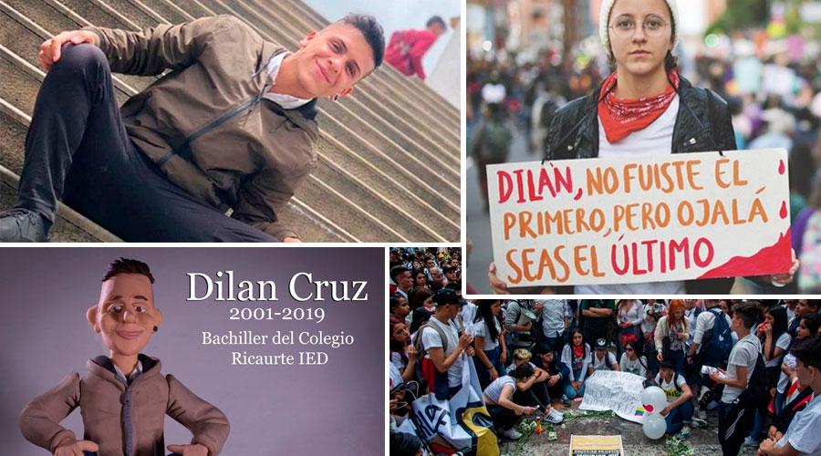 Dilan Cruz, Que En Paz Descanse. Tu imagen seguirá en NOSOTROS