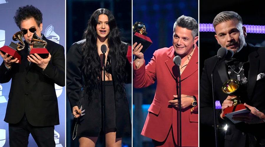Ganadores de los Grammy Latinos 2019